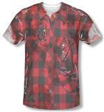 Hipster Zombie Costume Tee Vêtement