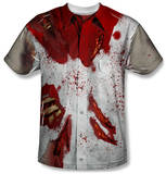 Ripped Zombie Costume Tee Shirts