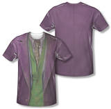 The Dark Knight - Joker Costume Tee (Front/Back Print) T-Shirt