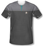 Star Trek - Science Uniform Costume Tee Shirts