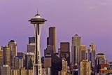 View of Seattle Skyline Photographic Print by Bob Stefko