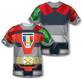 Voltron - Costume Tee (Front/Back Print) T-Shirt