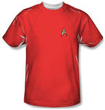 Star Trek - Red Shirt Costume Tee T-shirts