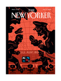 The New Yorker Cover - July 9, 2001 Regular Giclee Print by Christoph Niemann