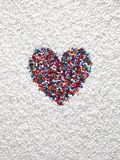 A Heart Shaped by Pills Photographic Print by Dwight Eschliman