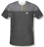 Star Trek - Engineering Uniform Costume Tee T-Shirt