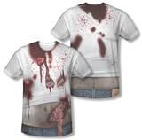 Zombie Slob Costume Tee (Front/Back Print) Vêtement