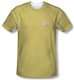 Star Trek - Command Uniform Costume Tee Sublimated
