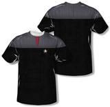 Star Trek - Command Uniform Costume Tee (Front/Back Print) Vêtement