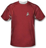 Youth: Star Trek - Engineering Uniform Costume Tee T-Shirt