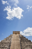 Mexico, Yucatan Peninsula, Chichen Itza, Kukulcan Pyramid Photographic Print by Bryan Mullennix