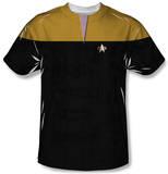 Youth: Star Trek Voyager - Command Uniform Costume Tee T-Shirt
