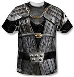 Star Trek - Klingon Uniform Costume Tee T-Shirts