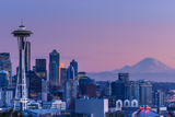 Good Evening, Seattle! Photographic Print by Dan Mihai