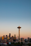 Seattle Skyline Photographic Print by Anthony Dell'Ario