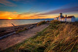 Lighthouse at Sunset Photographic Print by Photo by David R irons Jr