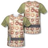 Star Trek - Gorn Costume Tee (Front/Back Print) T-Shirt