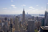 Landmark Empire State Building and Tall Buildings. Photographic Print by Barry Winiker