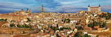 Ancient Spain - Toledo City, Panoramic View Photographic Print by  Maugli-l