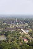 Aerial View of Angkor Wat, Cambodia Photographic Print by  fototrav