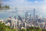 Hong Kong, China. Overall View. Photographic Print by Ken Welsh