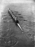 Oxford Oarsmen Photographic Print by Topical Press Agency