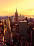 New York - Magic Hour at Top of Rock Photographic Print by Matt Pasant