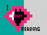 I Heart Pixel Reading 2 Prints