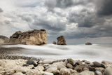 Petra Tou Romiou Aphrodite's Rock Photographic Print by Paul Biris