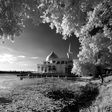 'Floating Mosque I : Welcome Ramadhan 1434' [Infra Photographic Print by Tuan Azizi