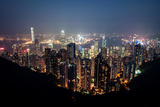 Hongkong Panorama from Victoria Peak Photographic Print by by Xiaoran Jiang