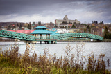 Edmundston Bridge Photographic Print by Guylaine Bégin