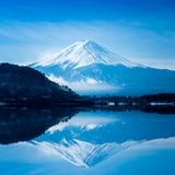 Fuji San Reflection, Kawaguchiko Lake Photographic Print by Thanapol Marattana