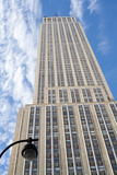 Usa, New York, New York City, Manhattan, Empire State Building, Low Angle View Photographic Print by Johner Images
