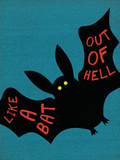 Like a Bat Out of Hell Plakater