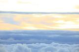 Japan, Yamanashi Prefecture, Narusawa Village, Mt. Fuji Toll Road, Clouds Photographic Print by  imagewerks