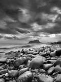 Rocky Reach Black and White Photographic Print by Juan Vte. Mu±oz