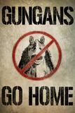 Gungans Go Home Poster