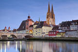 Regensburg. Fotografisk trykk av  rudi1976