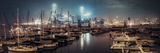 A Night Sense in Causeway Bay Typhoon Shelter Photographic Print