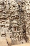 Mahabalipuram - Arjuna's Penance Photographic Print by  Mahesh