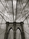 Brooklyn Bridge Photographic Print by Adrian Hopkins
