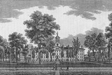 Engraving of Princeton College Photographic Print by Kean Collection