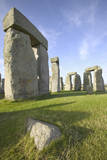 Ancient Standing Stones of Stonehenge, near Salisbury in Wiltshire, England UK Photographic Print by VisitBritain/Martin Brent