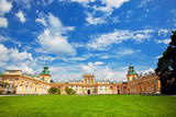 The Royal Wilanow Palace in Warsaw, Poland. View on the Main Facade. Prints by PHOTOCREO Michal Bednarek