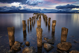 Puerto Natales Pier Photographic Print by Jimmy McIntyre
