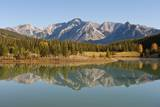 Mount Inglismaldie at Cascade Ponds in Banff National Park Photographic Print by Design Pics / Robert Brown