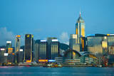 Hong Kong View from Kowloon Photographic Print by Ko Fujimura