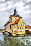 Town Hall on the Bridge, Bamberg, Germany Photographic Print by  Zoom-zoom