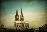 View of Gothic Cathedral in Cologne, Germany Posters by  ilolab